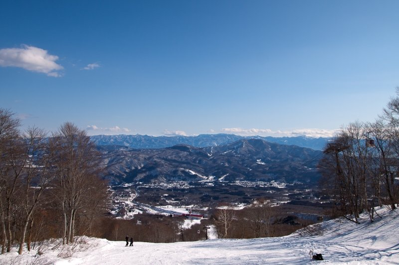 Myoko Kogen in the sunshine