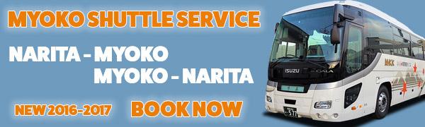 narita to myoko transport