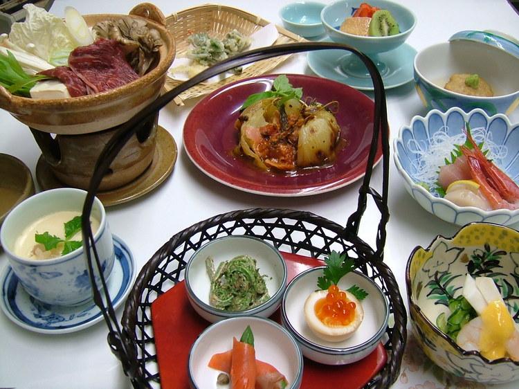 hotel takeda akakura meal, Takeda Hotel
