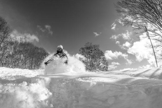 ski in, ski out Akakura Myoko