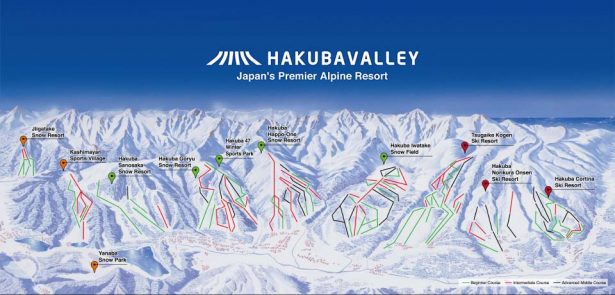 hakuba snow report