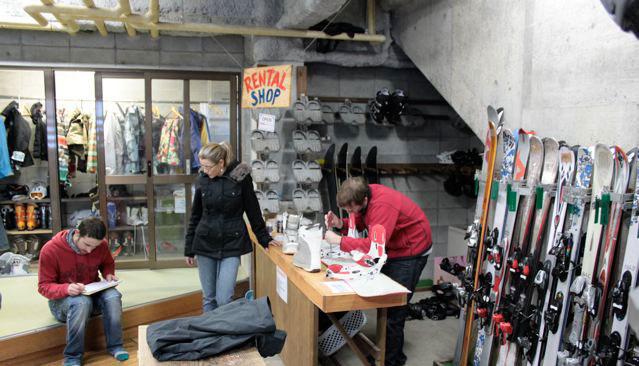 Nozawa Onsen ski rentals, Nozawa ski rental, Nozawa Onsen Ski School