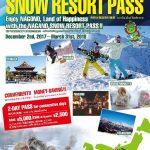 Nagano Snow Resort Pass